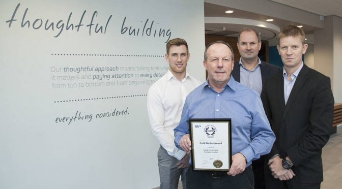 Anwyl Group gets the Gold RoSPA Award