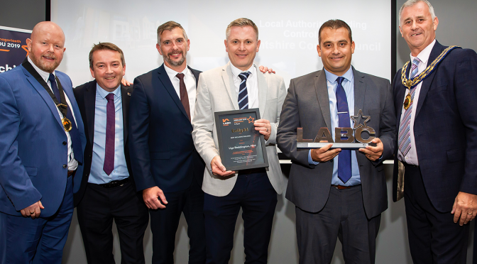 Success at LABC Awards for Anwyl Construction
