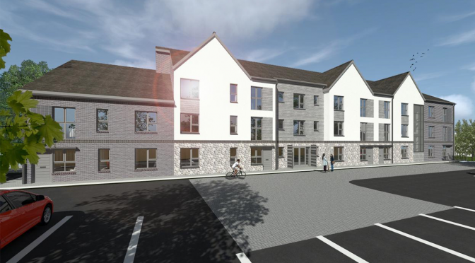 Anwyl Partnerships on site at £3.5m affordable housing development
