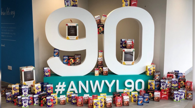 Anwyl boosts Ty Gobaith's Easter egg appeal